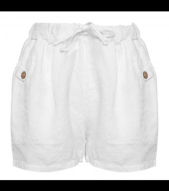 Ella shorts hvid 1