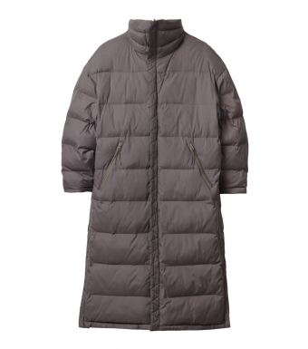 SHU Long Revesable Jacket, Brown