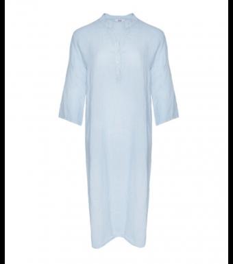 Tiffany 18970 Shirt Dress Linen, Light Blue