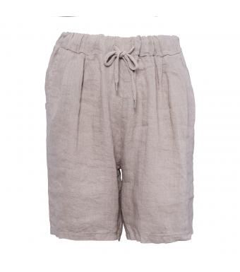 Tiffany 181017 Shorts Linen, Nougat