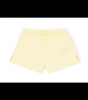 Ganni T2913 Drawstring Shorts Software Isoli, 304 Anise Flower