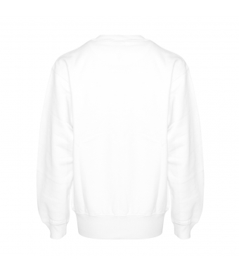 Anine Bing Sweater Ramona Monogram Hvid