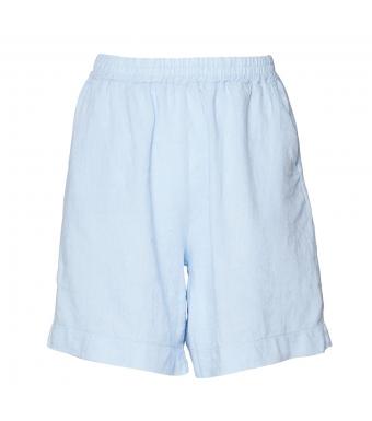 Tiffany Tracy Shorts Linen, Light Blue