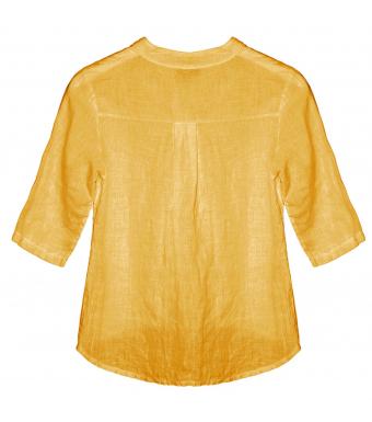 Tiffany 17661 Mini Shirt Linen, Senape Yellow