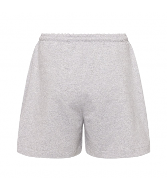 Noella Tweedy Shorts, Grey Melange