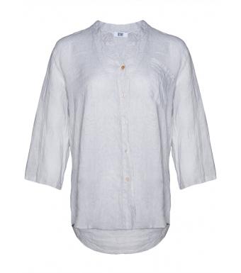 Tiffany 18973 Shirt Linen, Pearl Grey