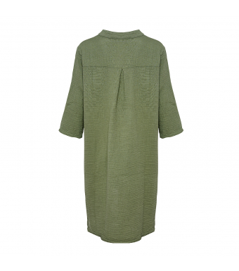 Tiffany 17690 Long Shirt Double Cotton, Army