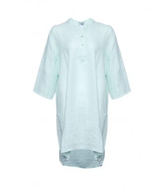Tiffany 17690 Long Shirt Linen, Water Green