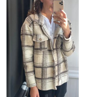 Tiffany By3278 Jacket Wool, Beige/brown