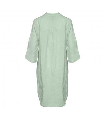 Tiffany 17690 Long Shirt Linen, Light Army