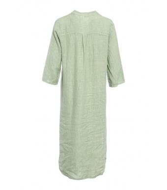 Tiffany 18970 Shirt Dress Linen, Light Army