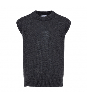 Tiffany Cathy Slipover Knit, Antracit Grey