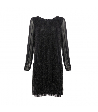 Noella dagmar dress black glitter
