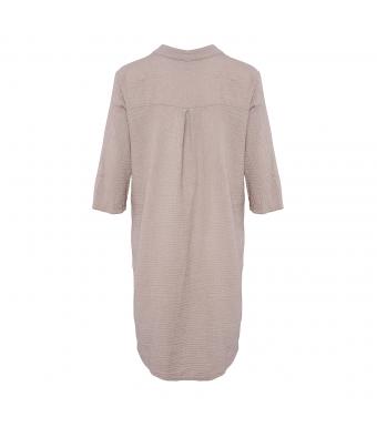 Tiffany 17690 Long Shirt Double Cotton, Nougat