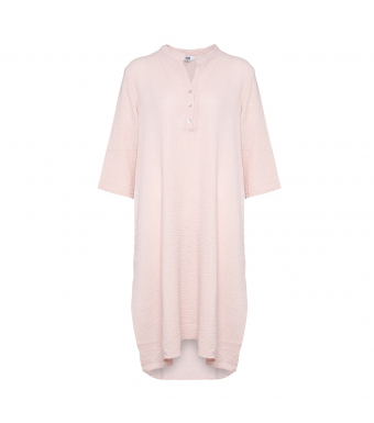 Tiffany 18970 Shirt Dress Double Cotton, Rose