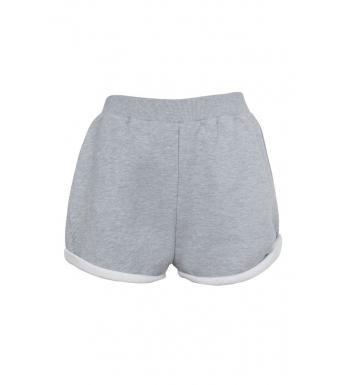 Ragdoll Sweat Shorts, Heather Grey