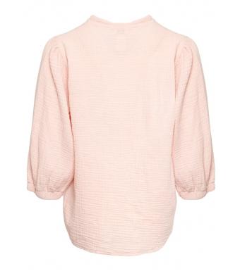 Tiffany Luna Blouse Double Cotton, Rose