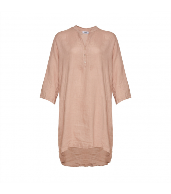 Tiffany 17690 Long Shirt Linen, Rose