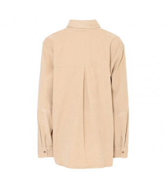 Tiffany 20a279 Shirt Small Ribbed Corduroy, Camel