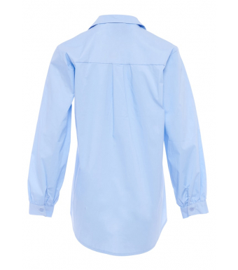 Tiffany 191571 Elli Shirt Cotton Poplin, Light Blue