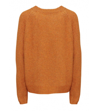 Tiffany Darling Blouse Knit, Rust