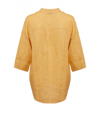 Tiffany 17661 Shirt Linen, Senape