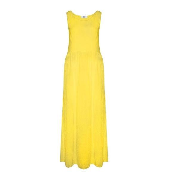 Billede af Tiffany Maxidress uden ærmer, yellow