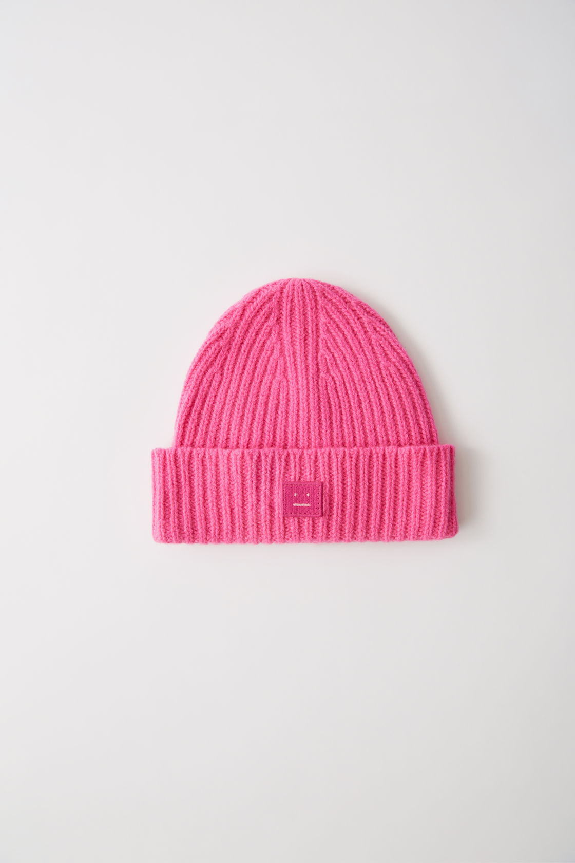 Image of   ACNE STUDIOS Pansy N Face Beanie, Bright Pink