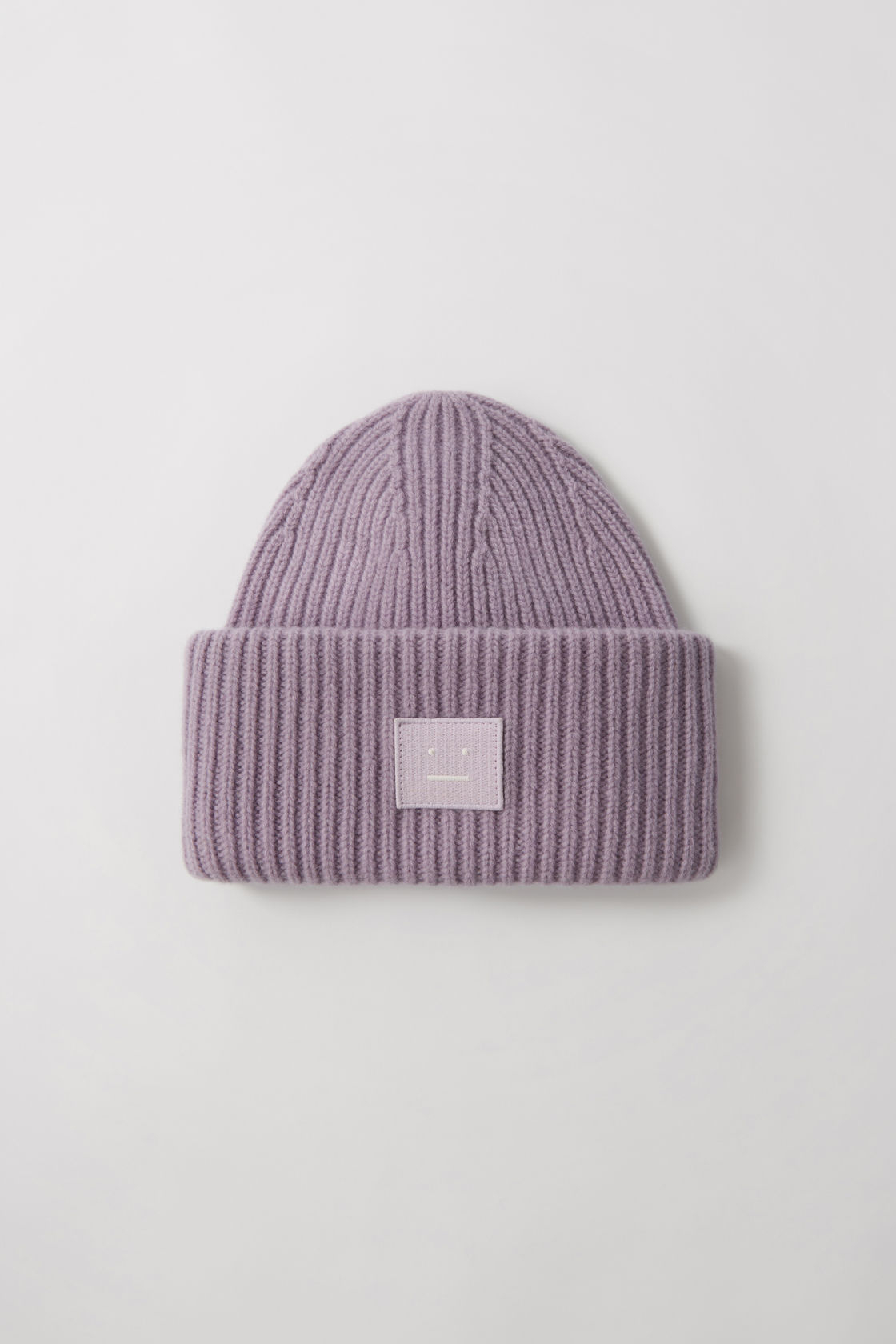 Image of   ACNE STUDIOS Pansy N Face Beanie, Mauve Purple
