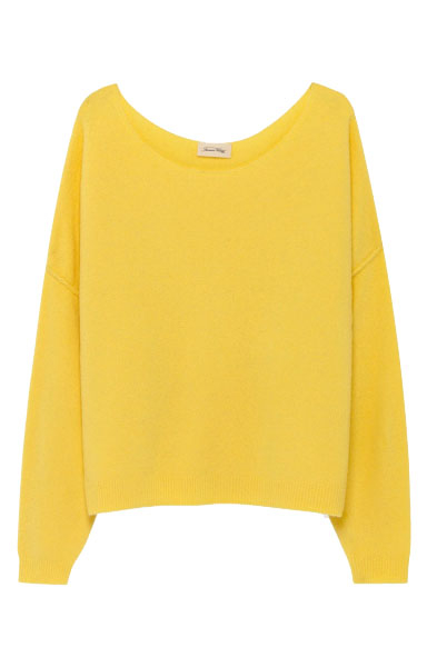 Image of   American Vintage Dam225 Pullover, Canneton