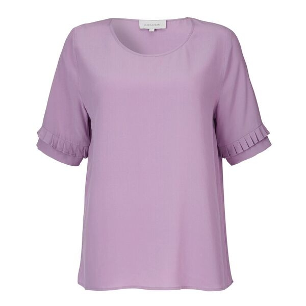 Image of   Kokoon Kokoon Eliza Pleat Tee, Purple