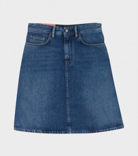 Image of   Acne Studios Shadow Skirt, Mid Blue