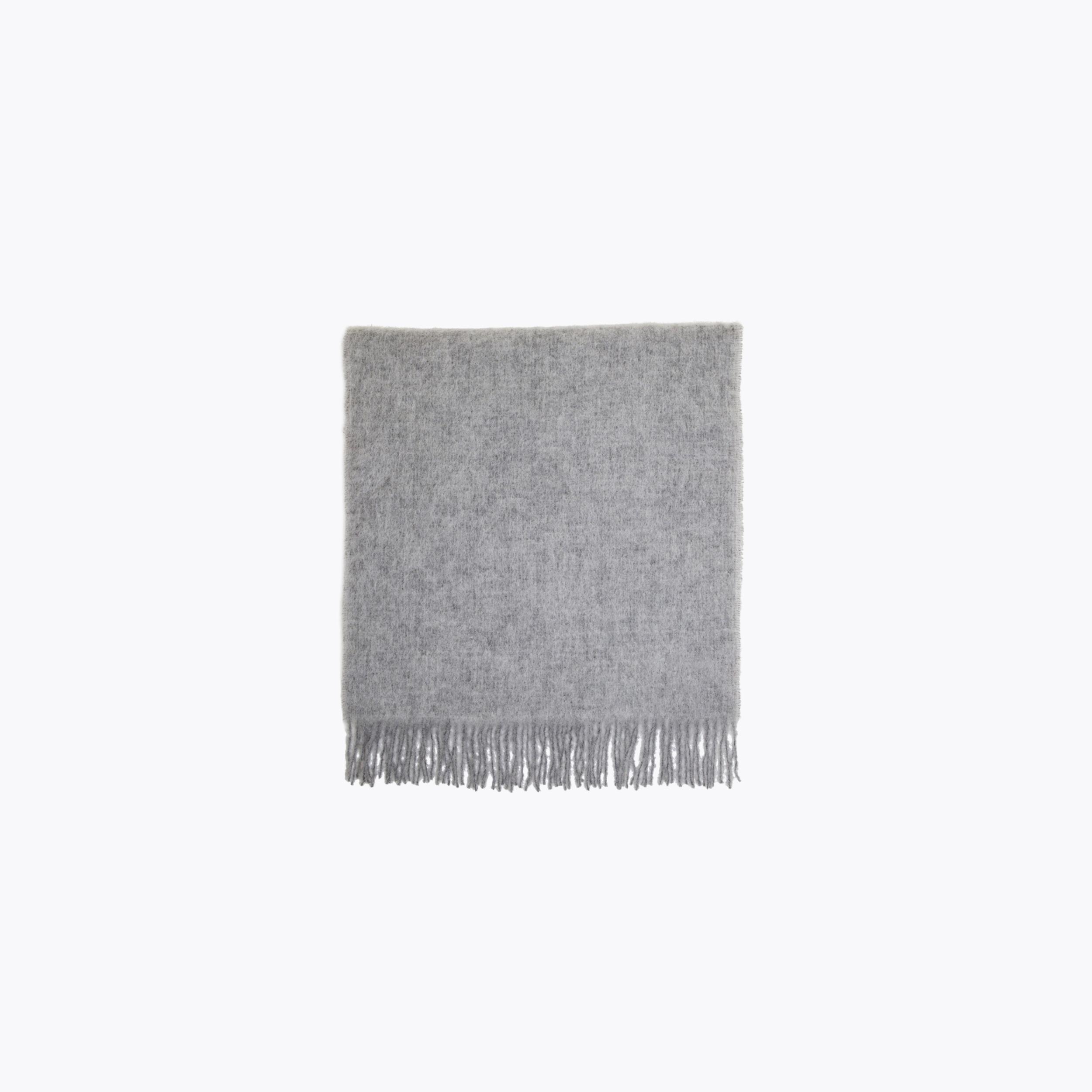 Image of   Holzweiler Holzweiler Fresia Solid Scarf, Light grey
