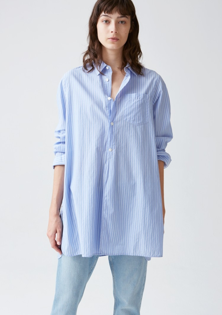 HOPE Coast Shirt, Blue Stripe