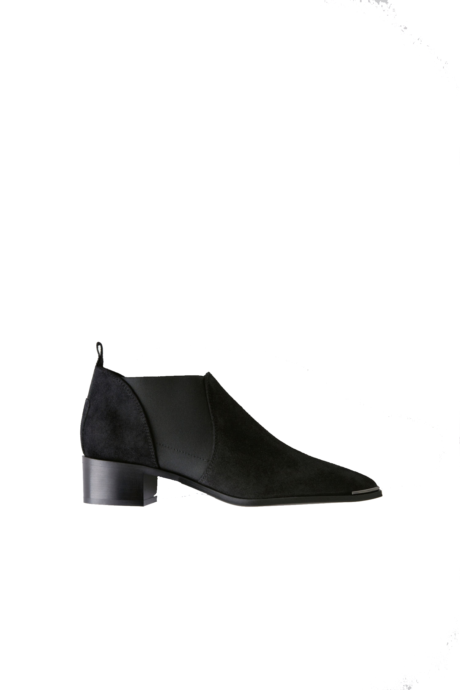 Image of Acne Studios Jenny Boots, black suede