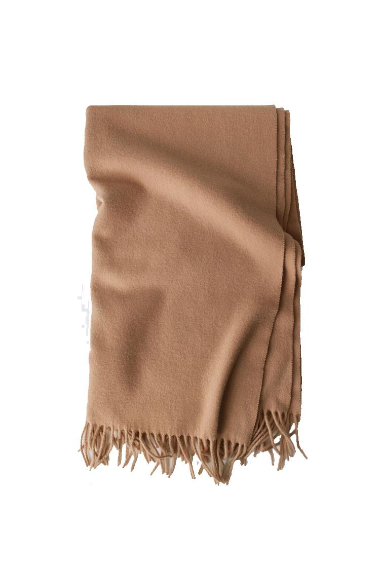 Image of ACNE STUDIOS Canada Scarf Wool, Camel