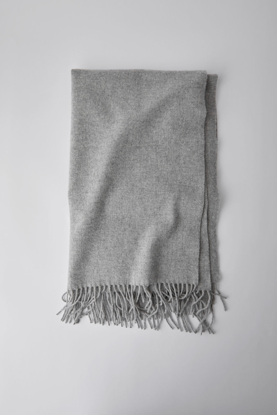 Image of   Acne Studios Canada Scarf, Light Grey Melange
