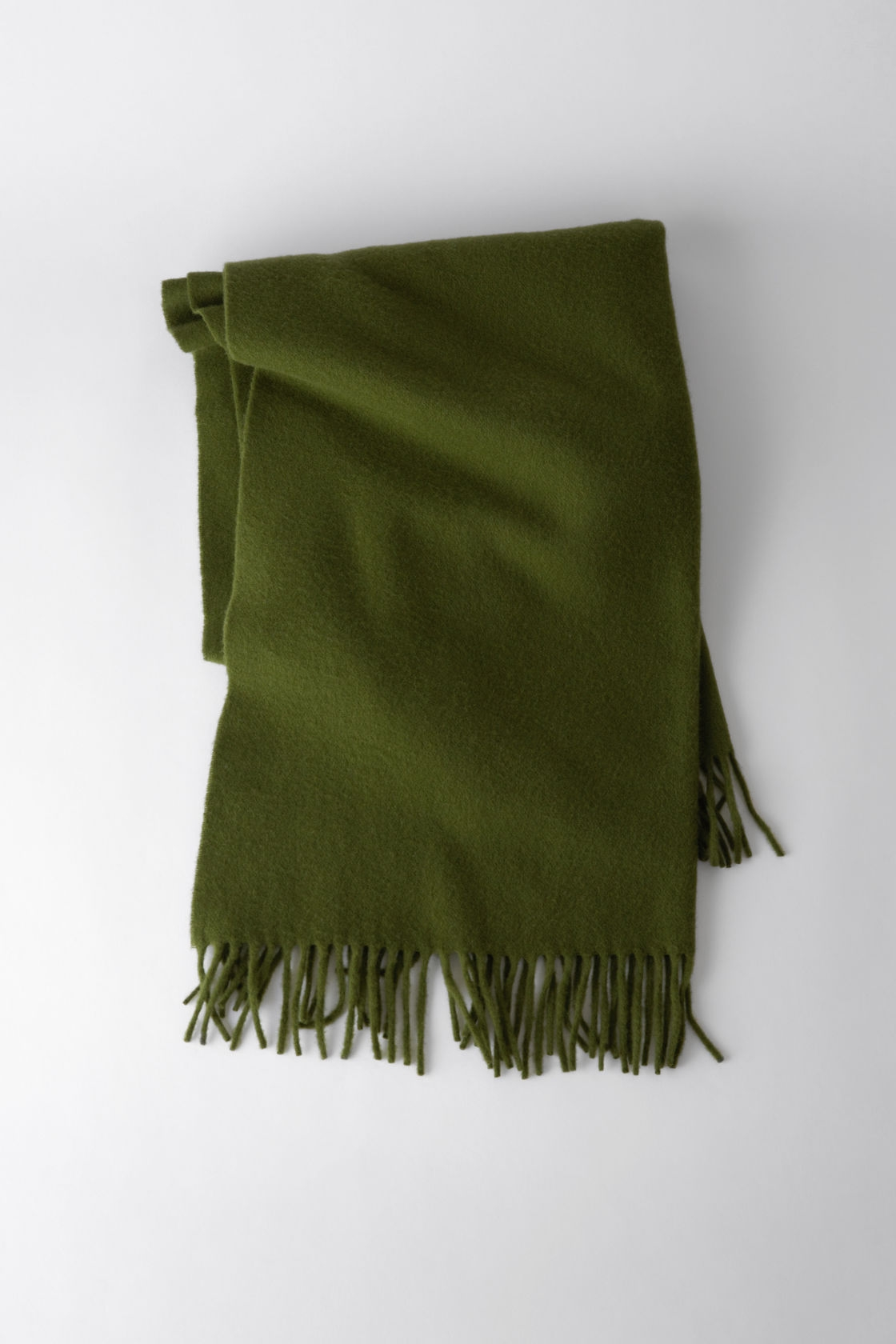 Image of   Acne Studios Canada Scarf, Meadow Green
