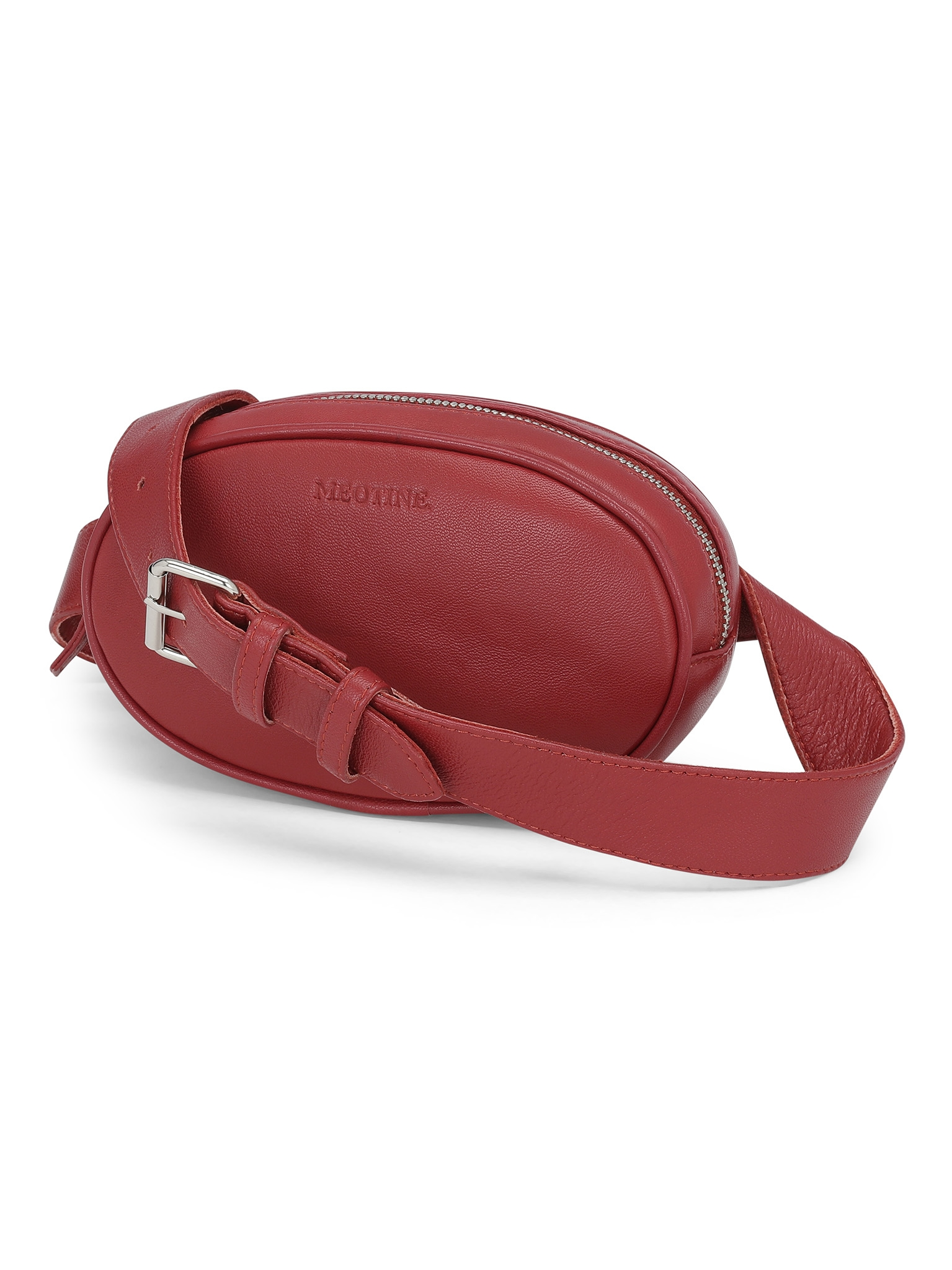 Billede af Meotine Leather Bum Bag, Red