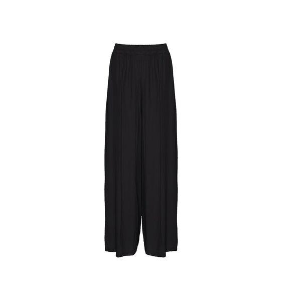 Tiffany Løse bukser med elastik, Sort