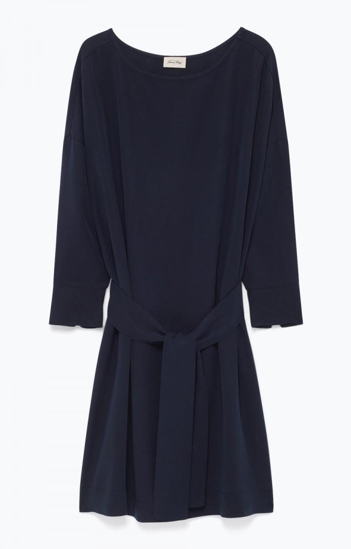 Image of   American Vintage Nala114 Robe, Navy
