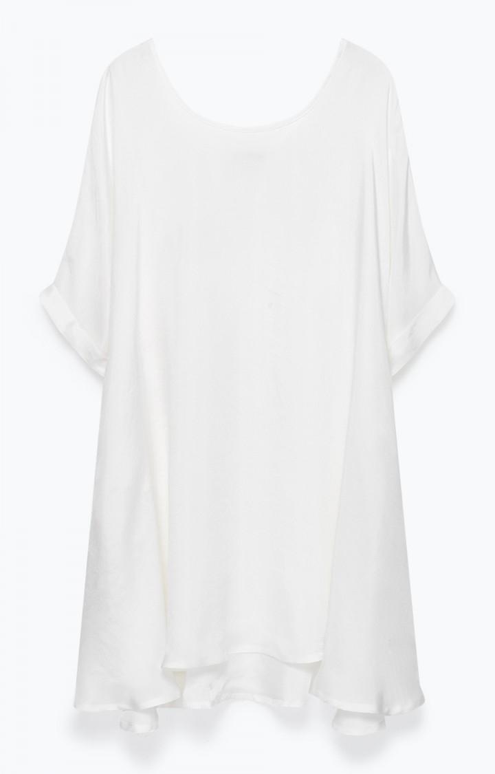 Image of   American Vintage Nonogarden Dress Blanc