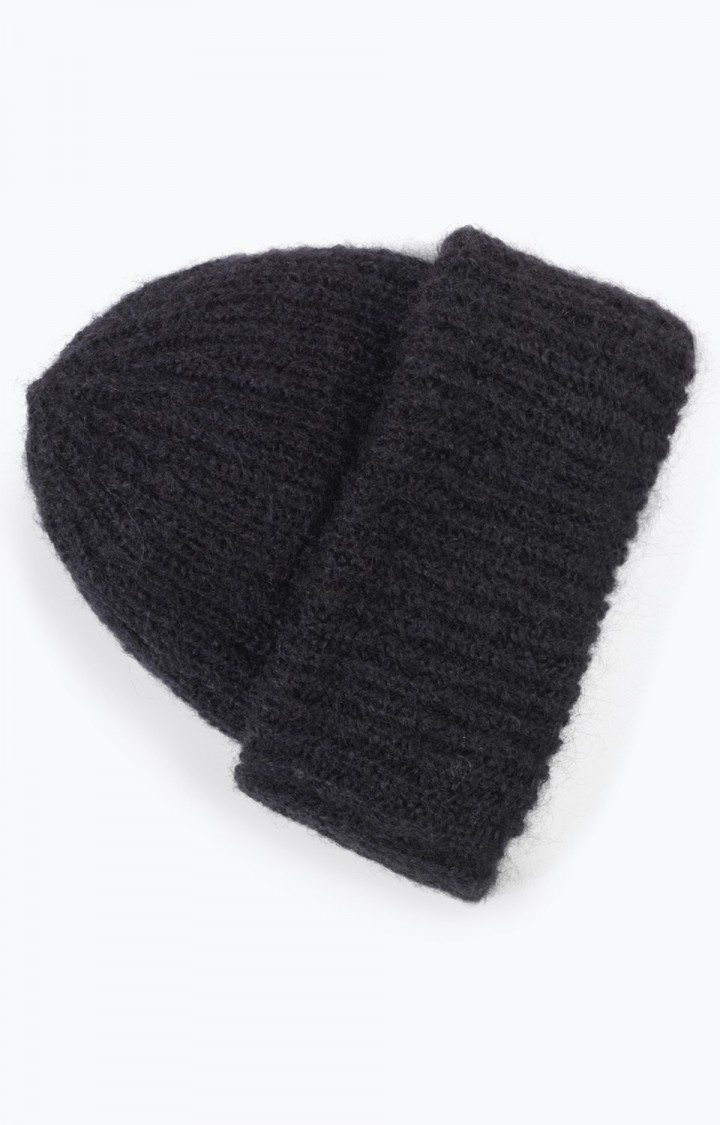 American Vintage American Vintage Beanie Hat, OWA259 noir