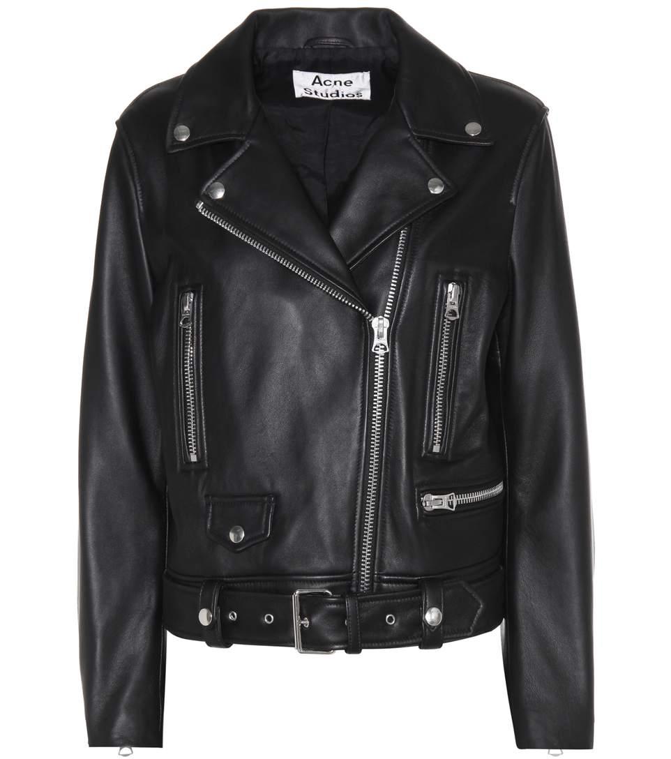 Image of   Acne Studios Mock Jacket, P Black