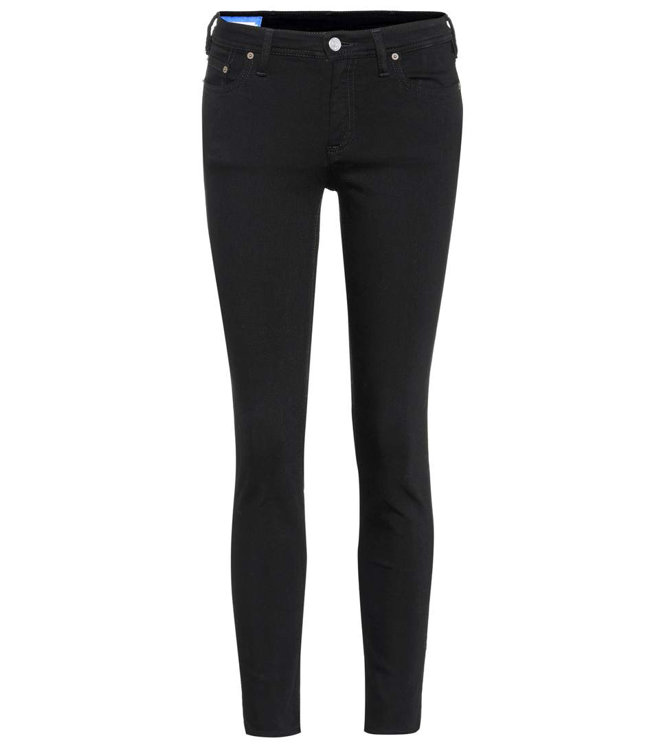 Image of   ACNE JEANS Climb Stay Black Length 34, Stay Black