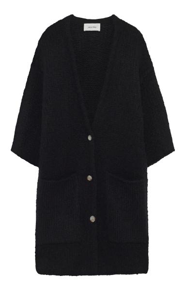 Image of American Vintage American Vintage Cardigan Boo275 Sort