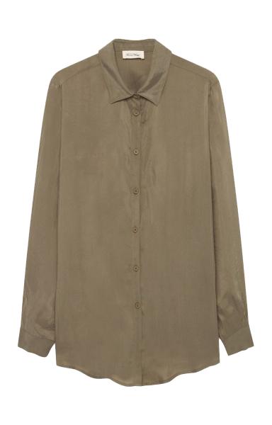 Image of American Vintage American Vintage Skjorte Nono160 Sauge