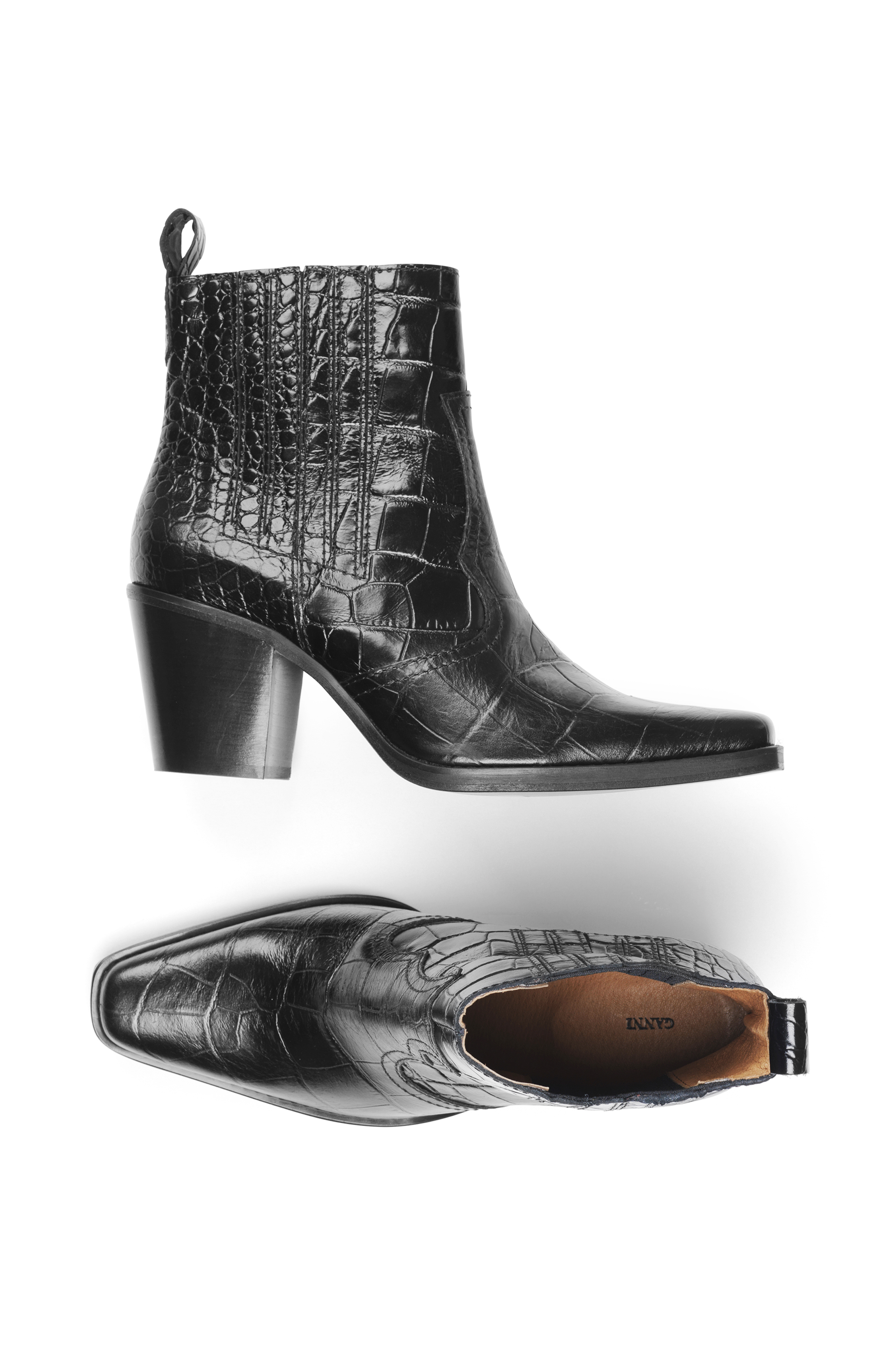Image of   Ganni S0778 Boots Callie, Black