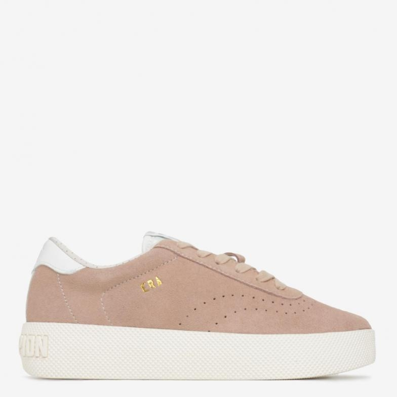 Image of   Champion Era Sneakers, Pink Suede