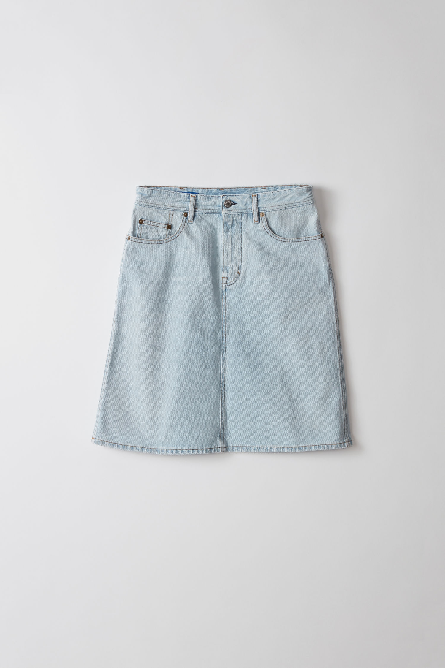 Image of   Acne Studios Shadow Skirt, Light Blue